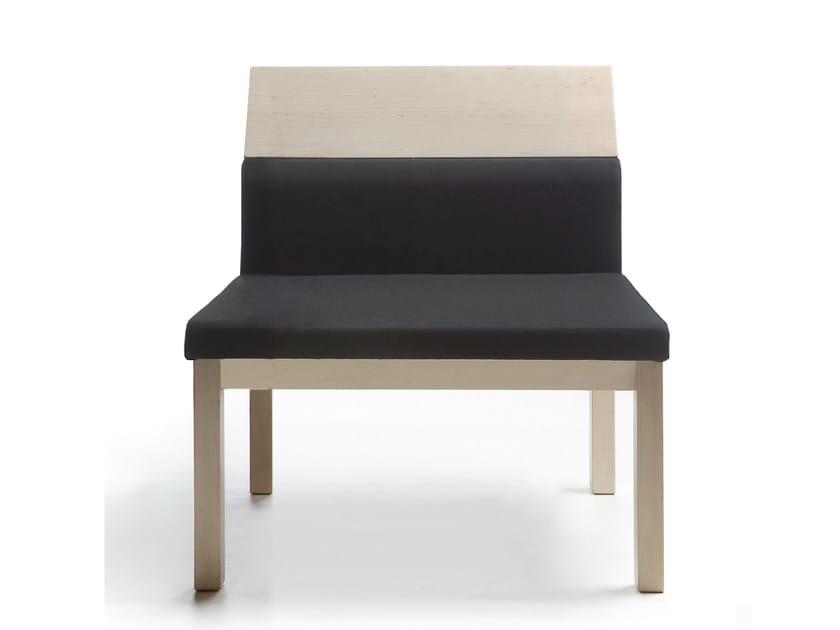 Upholstered easy chair SEMINAR JRA1 by Nikari