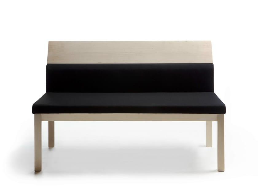 Wooden small sofa SEMINAR JRA3 by Nikari