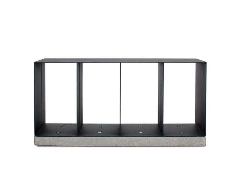 Storage iron bench MANHATTAN | Bench by Röshults