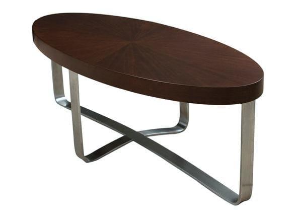 Oval coffee table ASTORIA by Hamilton Conte Paris