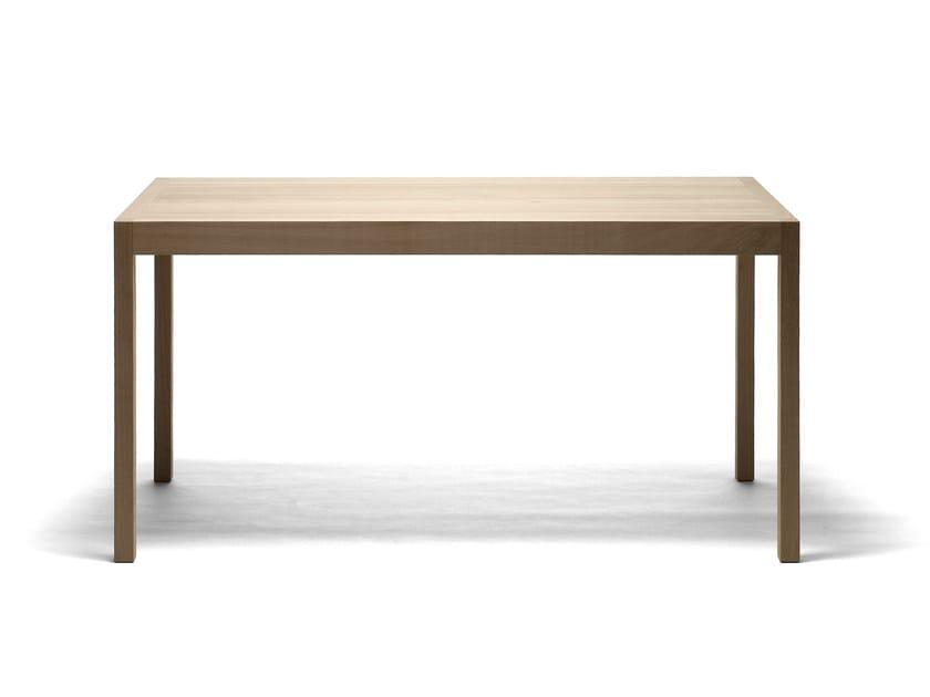 Folding rectangular wooden table SEMINAR TJP2 by Nikari