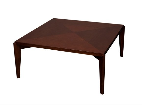 Square wooden coffee table ARHUS | Square coffee table by Hamilton Conte Paris