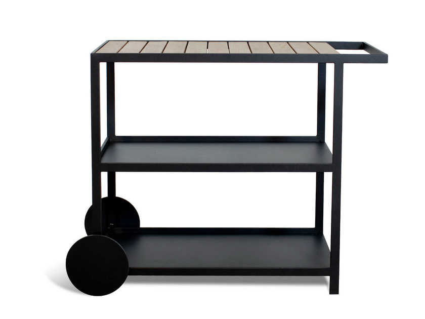 carrello portavivande da giardino in acciaio inox garden carrello portavivande r shults. Black Bedroom Furniture Sets. Home Design Ideas