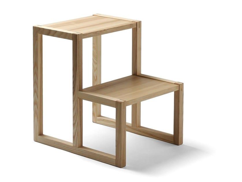 Wooden step stools SEMINAR TT2 by Nikari