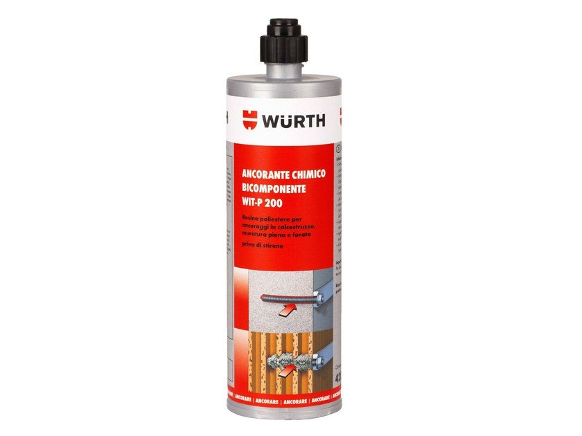 Chemical anchor WIT-P 200 by Würth