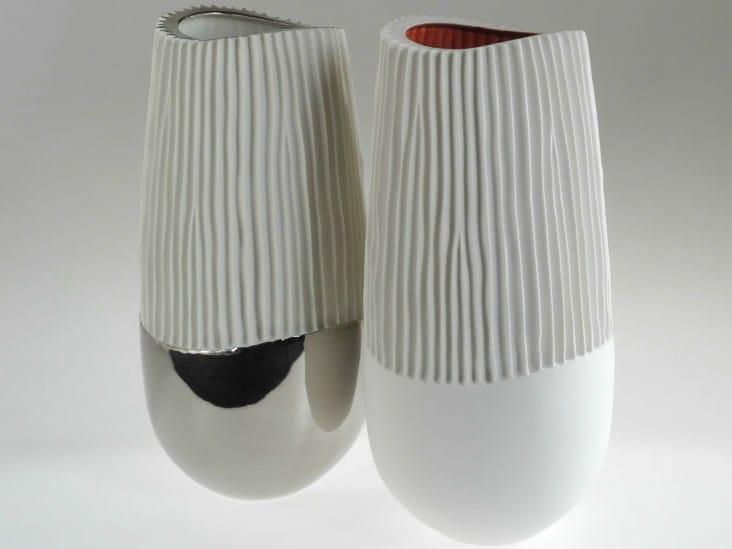 Porcelain vase NOVALIS | Vase by Fos Ceramiche