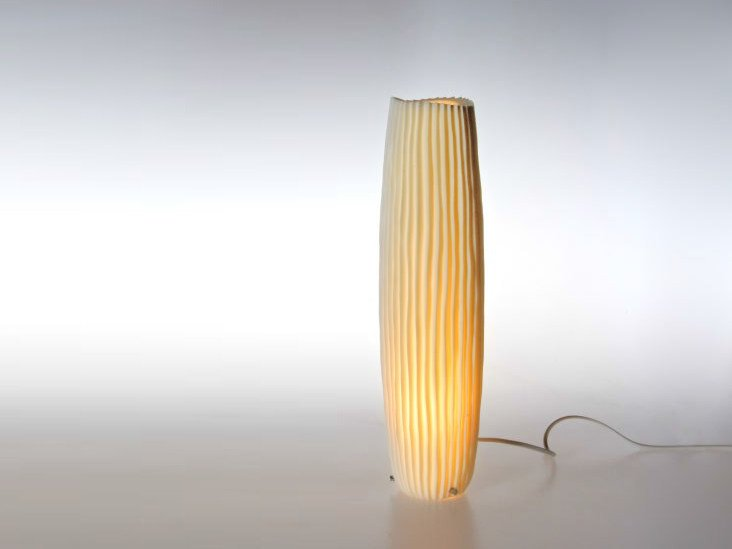 Handmade porcelain table lamp NOVALIS   Table lamp by Fos Ceramiche