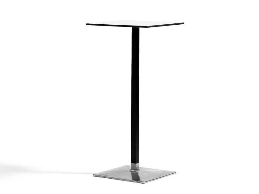 Aluminium high table LEVEL | High table by Blå Station