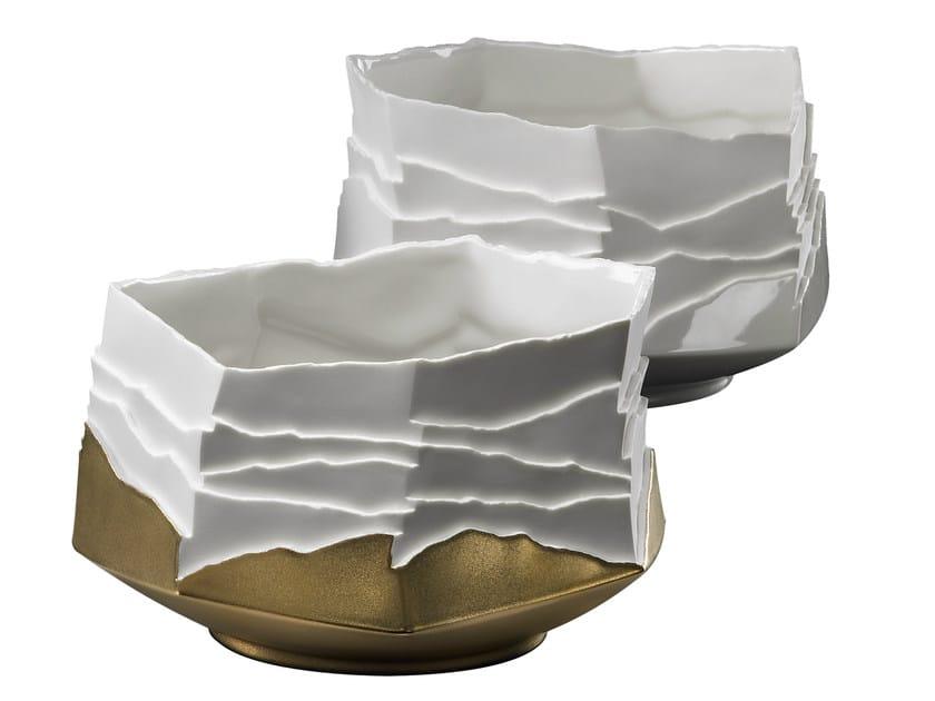 Porcelain serving bowl EROSUM | Serving bowl by Fos Ceramiche