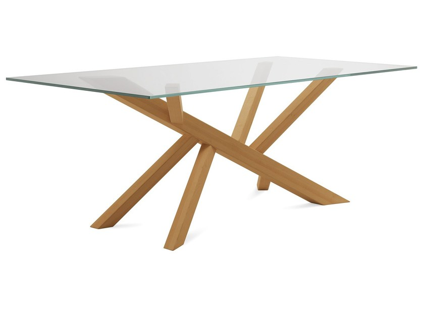 Dining table TREE-240 by DOMITALIA