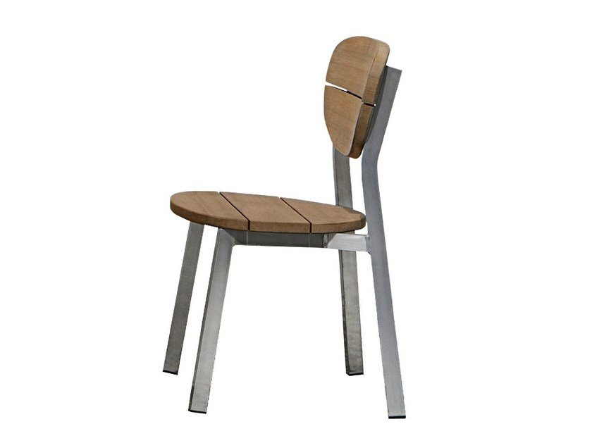Stackable chair INOUT 123 by Gervasoni