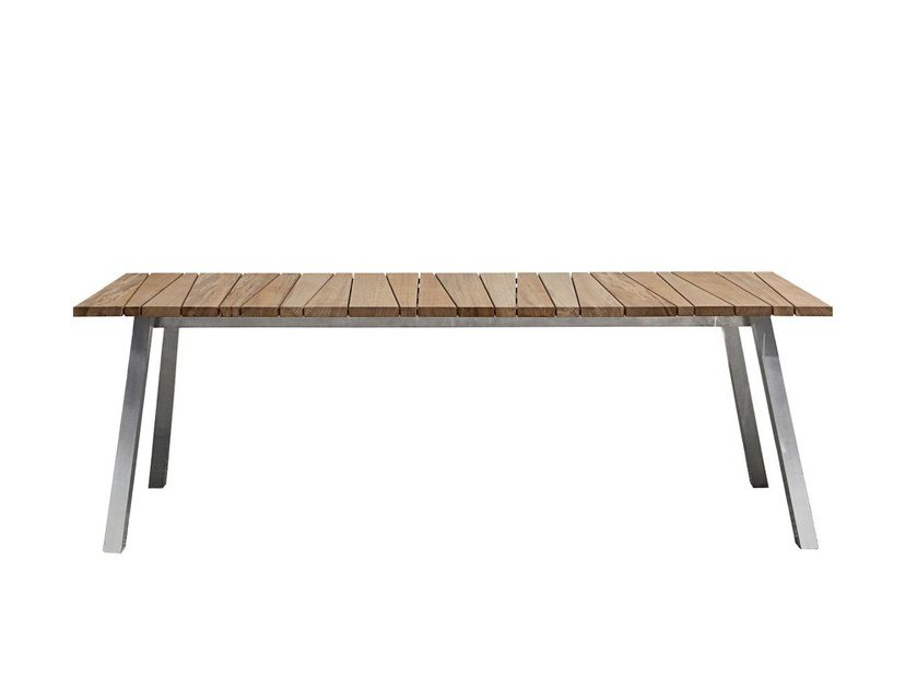 Rectangular dining table INOUT 133 by Gervasoni