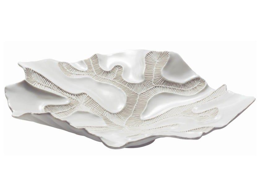 Porcelain centerpiece FOSSILIA | Centerpiece by Fos Ceramiche
