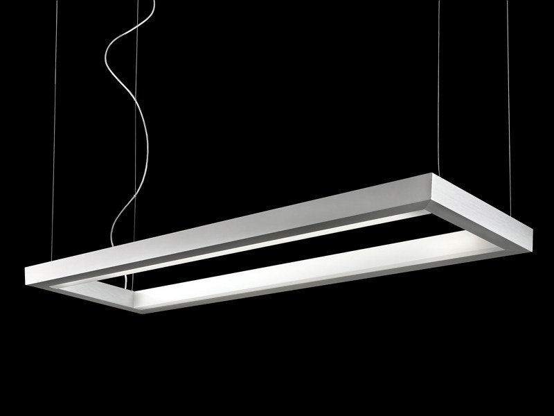 Direct-indirect light pendant lamp STYLE | Pendant lamp by Lucente