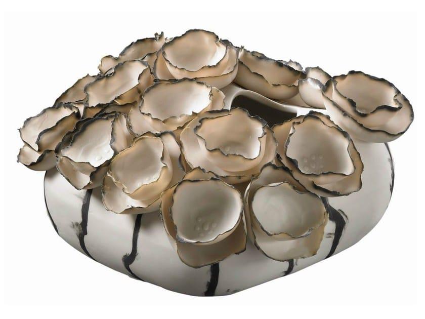 Porcelain decorative object / vase NATURALIA by Fos Ceramiche