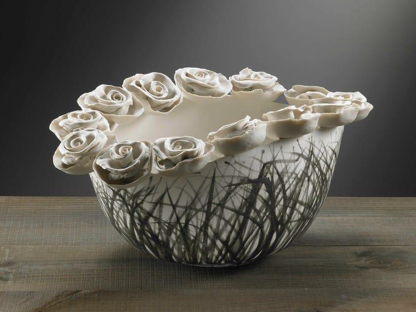 Porcelain centerpiece NATURALIA | Centerpiece by Fos Ceramiche