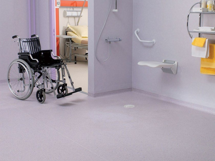 Anti-slip PVC flooring GRANIT MULTISAFE by TARKETT