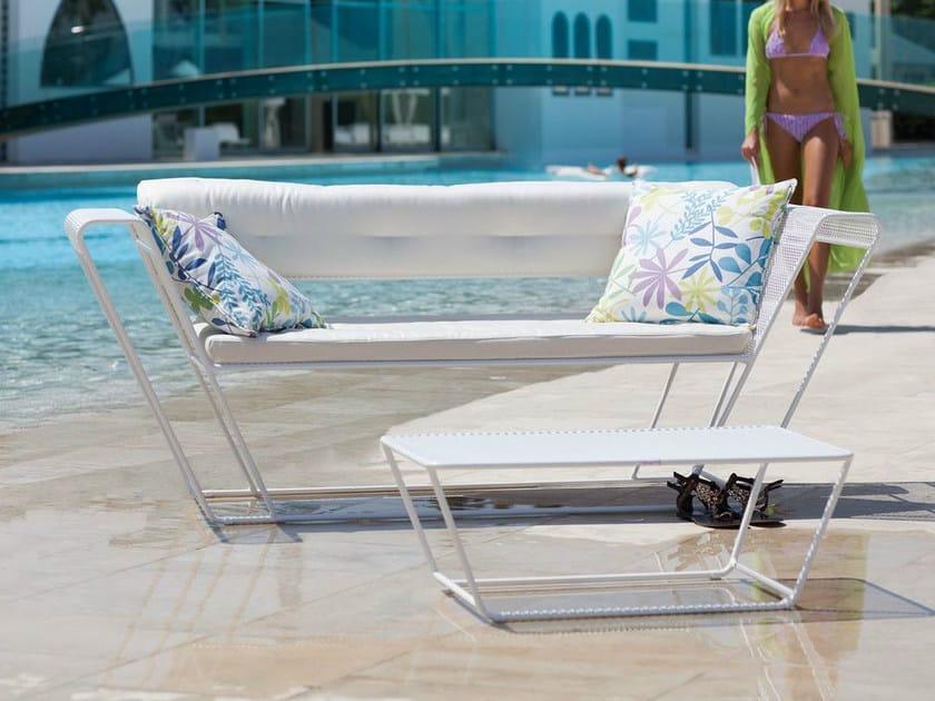 2 seater steel sofa FLOAT | Sofa by Talenti
