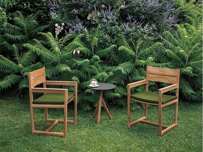 Awesome Teak Garden Chair With Armrests ORSON | Chair With Armrests By RODA