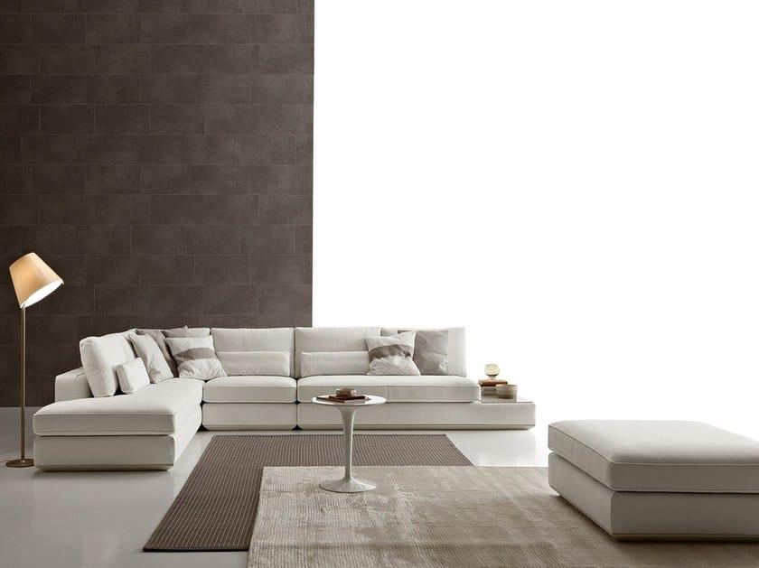 Corner sectional fabric sofa LOMAN by Ditre Italia