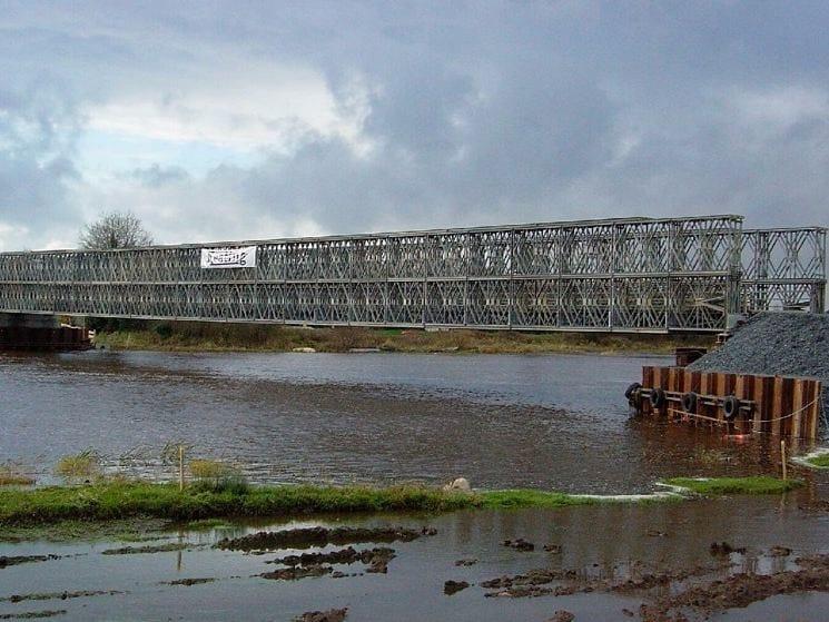 Bridge and modular pontoon JANSON PANEL BRIDGES by Janson Bridging