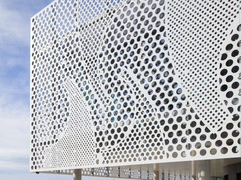 Облицовочное покрытие фасада из искусственного камня HI-MACS® for façades by HI-MACS