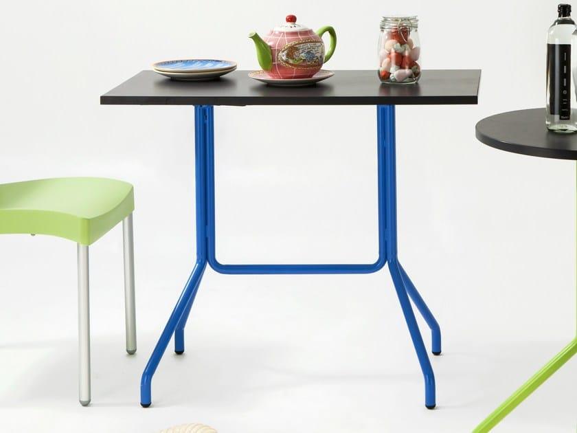 Rectangular metal table ELIO | Rectangular table by Mara
