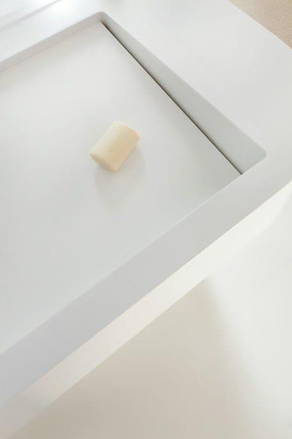 HI-MACS® per bagno Design & fabrication: Solidity Ltd -  Material: HI-MACS® Alpine White - Photo credits: Still Pictures
