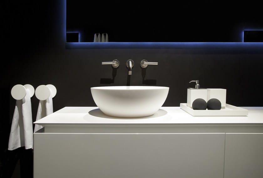 HI-MACS® per bagno RIFRA Bowl - Fabrication: Dform - Photo Credits: Tiziana Arici