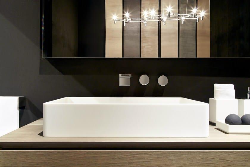 HI-MACS® per bagno RIFRA 'Box' - Fabrication: Dform - Photo Credits: Tiziana Arici