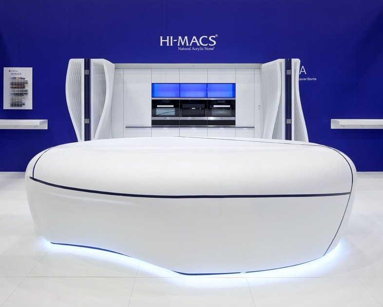 HI-MACS® per top cucina The Sky is the Limit by Xavier Bonte / TMA - Photo Credits: Marcus Peel Photography