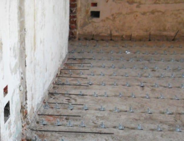 Barre nei solai in laterocemento e calcestruzzo