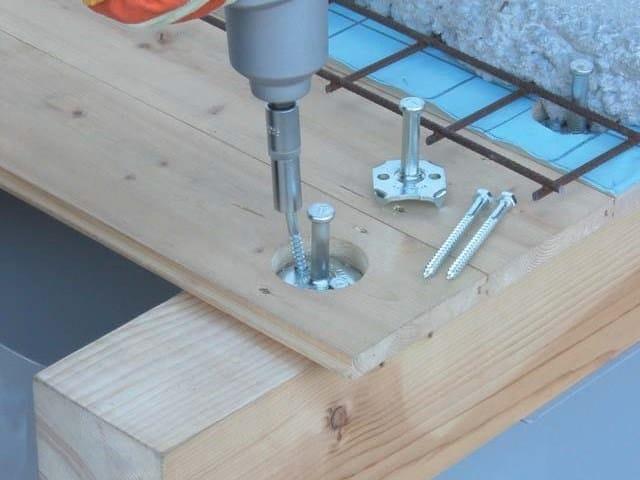 Floor slab connector CTL BASE by TECNARIA
