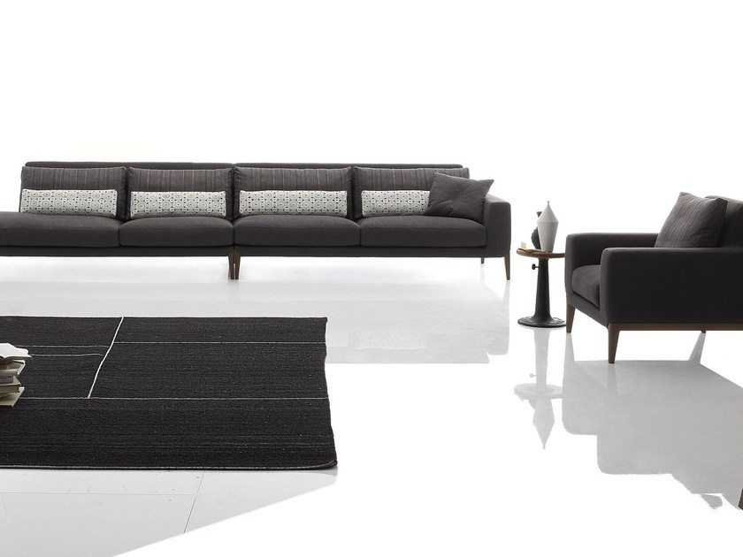 Sectional fabric sofa MILLER | Sectional sofa by Ditre Italia
