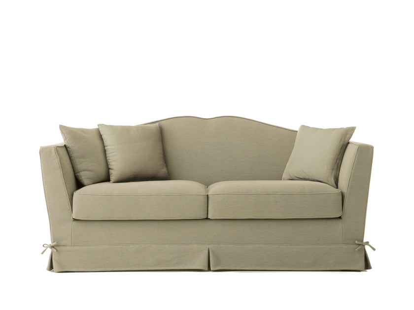 2 seater fabric sofa bed COUNTRY STYLE by Minacciolo