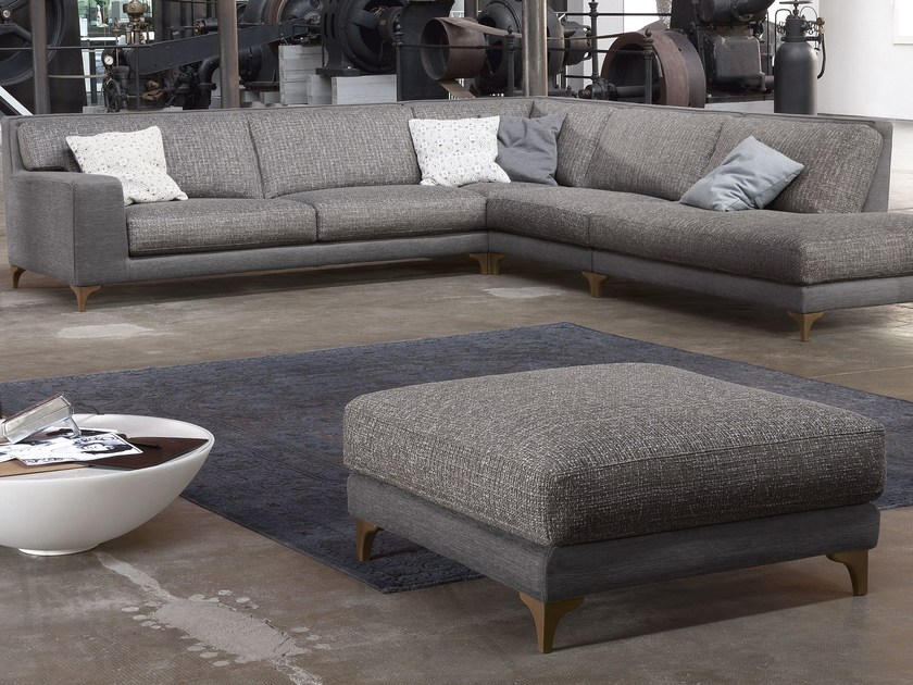 Corner fabric sofa MORRISON | Corner sofa by Ditre Italia
