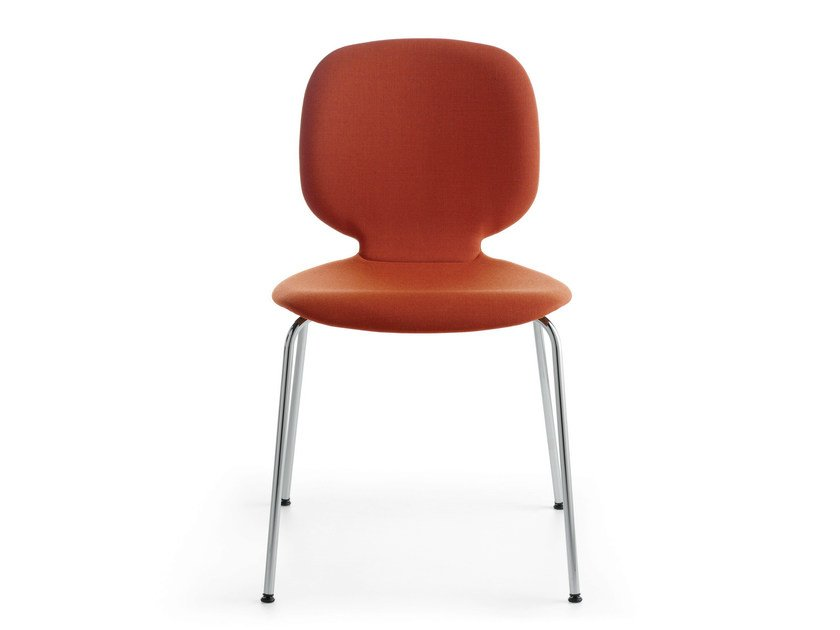 Upholstered stackable chair ALIS R | Upholstered chair by Crassevig