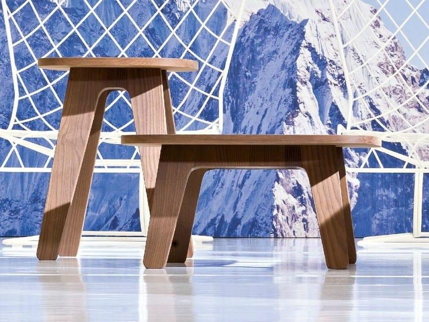 Gervasoni Giardino In 946 Tavolino Da Quadrato Frassino Inout X8PwOkn0