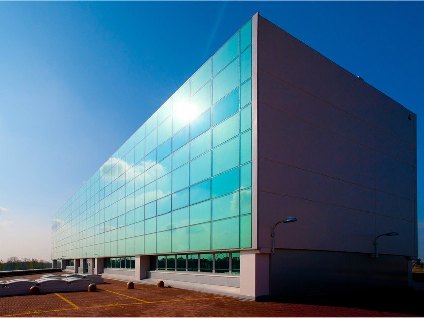 Sound absorbing laminated security glass Pilkington Optiphon™ by PILKINGTON ITALIA