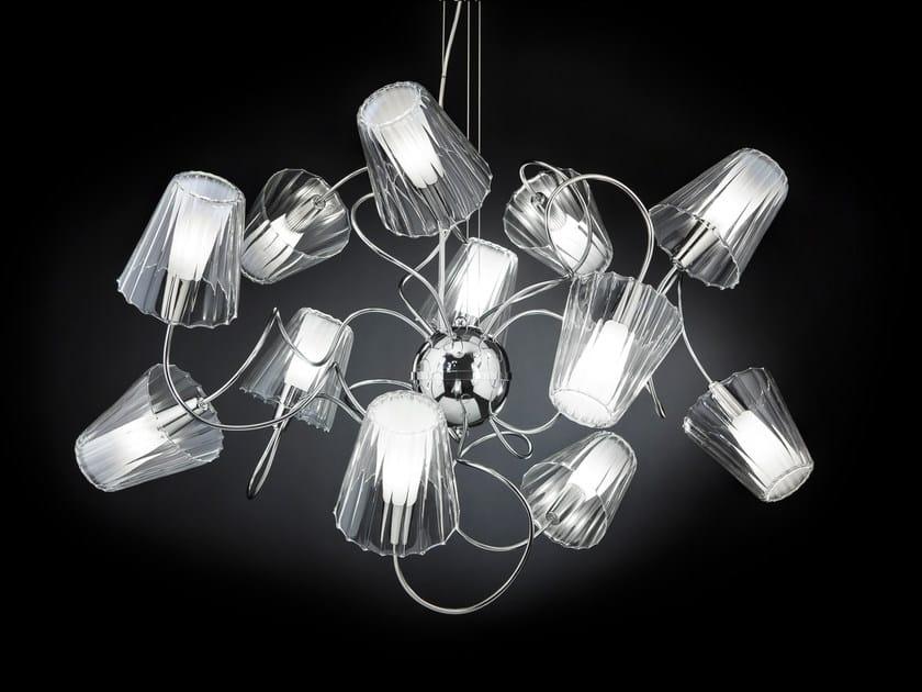 Pyrex® pendant lamp ARIA | Pendant lamp by Metal Lux