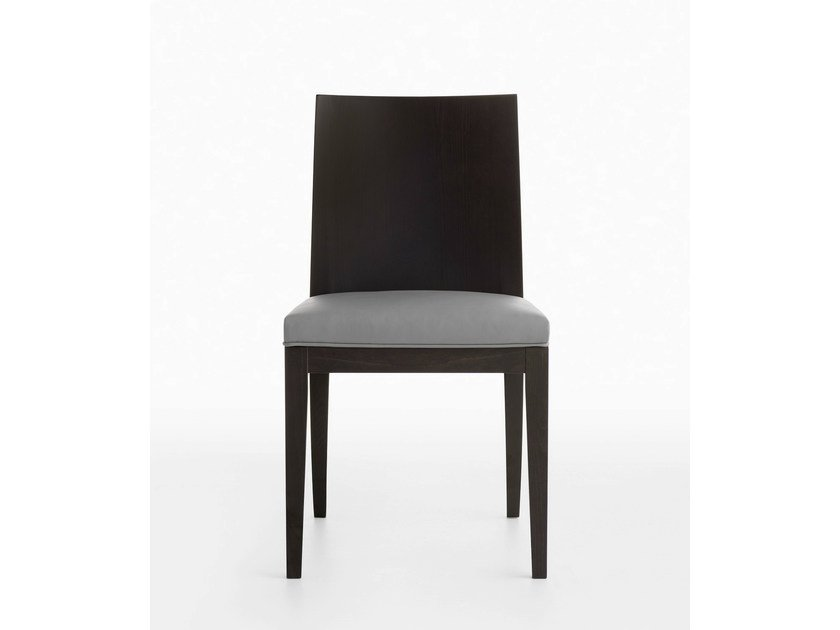 Upholstered wooden chair MIRA | Upholstered chair by Crassevig