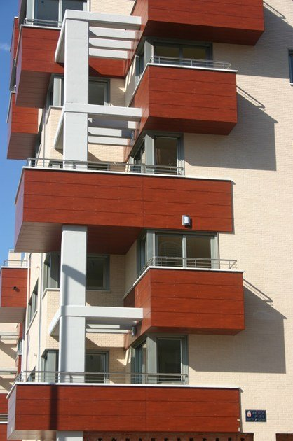 Hpl Wall Panel For Balconies Trespa 174 Meteon 174 Balconies