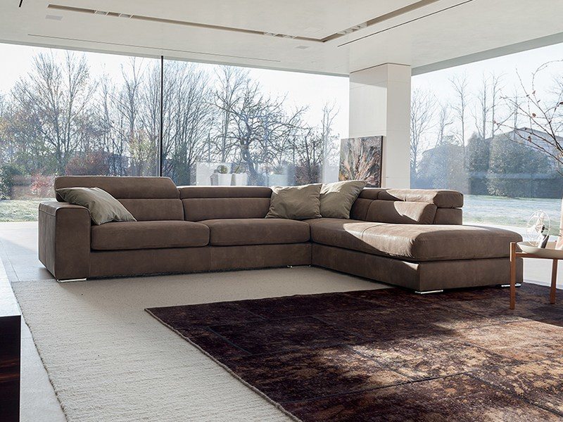 Recliner leather sofa ANTIGUA LEATHER by Ditre Italia