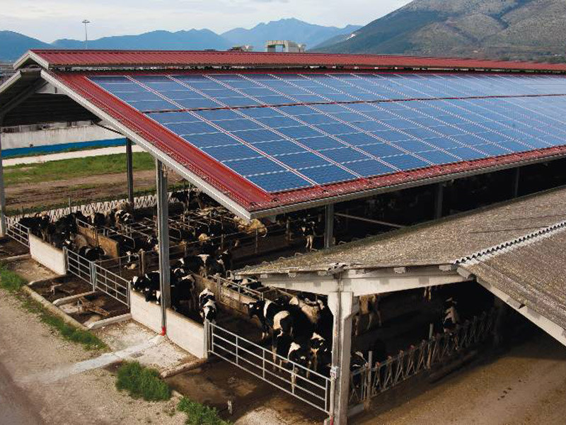Insulated metal panel for roof ISOFARM by ISOPAN