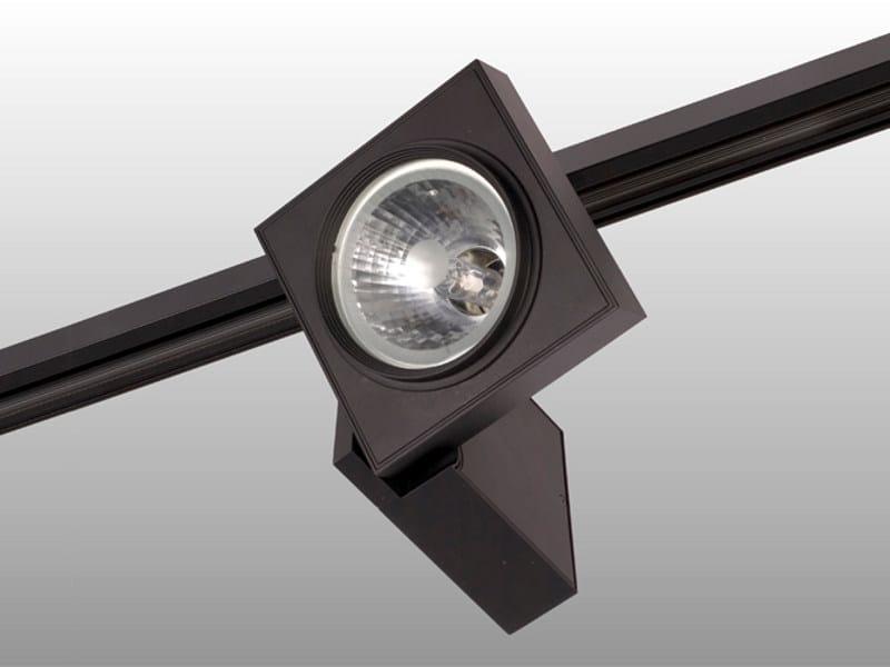 Halogen aluminium Track-Light PHANTOM by Orbit