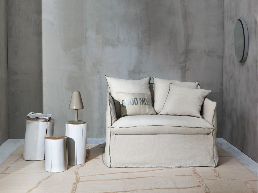 Schlafsessel mit abnehmbarem bezug ghost 11 by gervasoni for Paola navone ghost