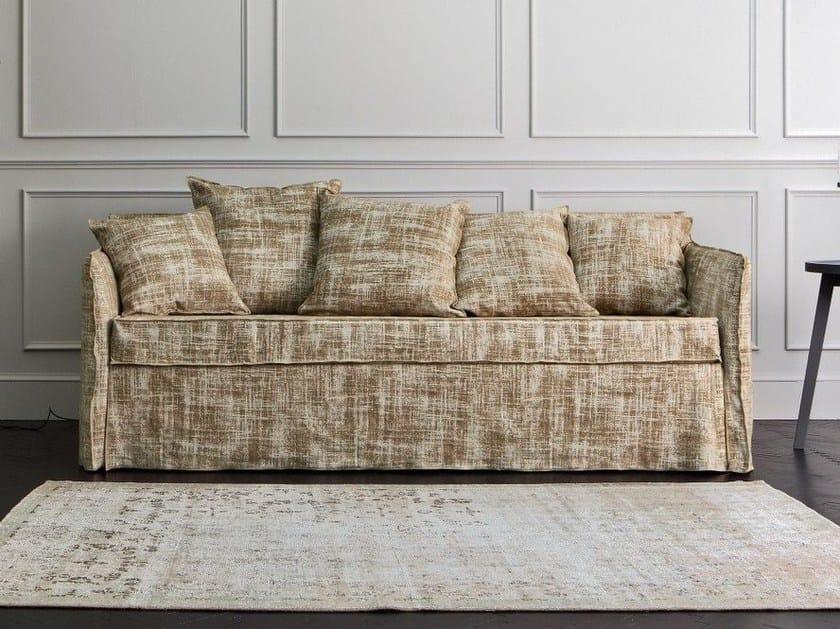Divano letto sfoderabile a 4 posti ghost 19 by gervasoni - Gervasoni divano letto ...