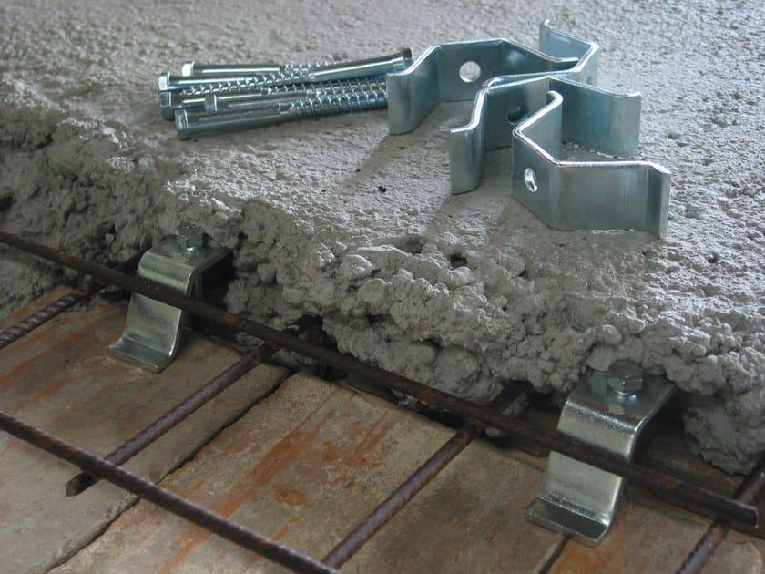 Floor slab connector OMEGA by TECNARIA