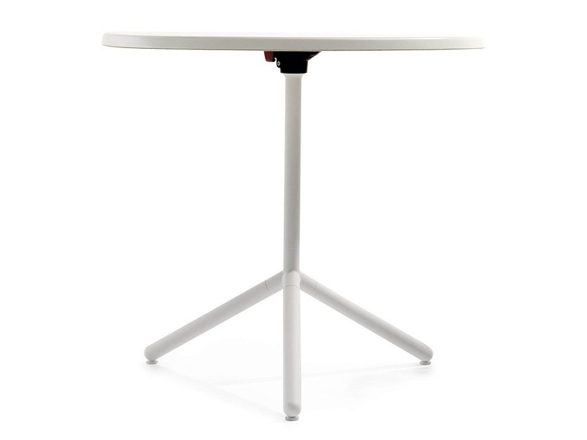 Drop-leaf round table NETT T | Round table by Crassevig