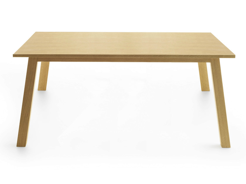 Rectangular wooden table OXTON 200 by Crassevig